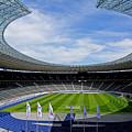 Olympic Stadium Berlin by Juergen Weiss