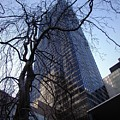 On A Clear Day...moma Courtyard Ny City by Arthur Miller