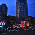 On Broadway In Nashville by Susanne Van Hulst
