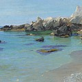 On The Capri Coast by Paul von Spaun