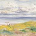 On The Cliffs by Pierre Auguste Renoir