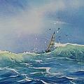 Open Waters Print by Laura Lee Zanghetti