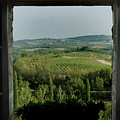 Open Window Looking Out On The Tuscan by Todd Gipstein
