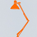 Orange Lamp by Naxart Studio