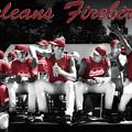 Orleans Firebirds Baseball Team by Dapixara Art