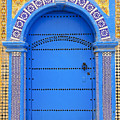 Ornate Moroccan Doorway, Essaouira, Morocco, Middle East, North Africa, Africa by Andrea Thompson Photography
