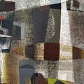 Os1957bo016 Abstract Landscape Of Potosi Bolivia 20.3 X 28.9 by Alfredo Da Silva