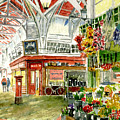 Oxford's Covered Market by Mike Lester