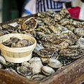 Oysters At The Market by Heather Applegate