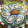 Oysters On The Half Shell by Dianne Parks