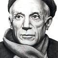 Pablo Picasso by Murphy Elliott