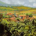 Paesaggio Toscano by Guido Borelli