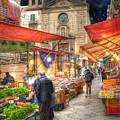 Palermo Market Place by Juli Scalzi