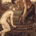 Pan And Psyche by Sir Edward Burne-Jones