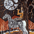 Pan Calls The Moon From Zebra by Carol Law Conklin