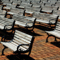 Park Benches by Perry Webster