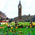 Parliament Square London by Kurt Van Wagner