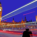 Parliament Square With Silhouette by Chris Smith