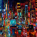 Party Of Lights by Debra Hurd