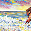 Pawing The Surf by Jenn Cunningham