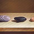 Pebbles On Parade by Elena Kolotusha