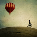 Penny Farthing For Your Thoughts by Irene Suchocki
