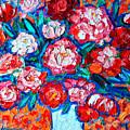 Peonies Bouquet by Ana Maria Edulescu
