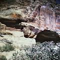 Petra, Transjordan: Cave by Granger