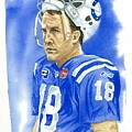 Peyton Manning - Heart Of The Champion by George  Brooks
