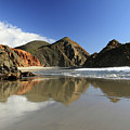 Pfeiffer Beach Reflection by Pierre Leclerc Photography