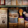 Pharmacy - Oils And Balms by Mike Savad