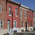Philadelphia Row Houses by Brendan Reals