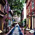 Philadelphia's Elfreth's Alley by Bill Cannon