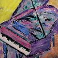 Piano Pink by Anita Burgermeister
