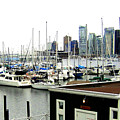 Picturesque Vancouver Harbor by Will Borden