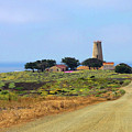 Piedras Blancas Historic Light Station - Outstanding Natural Area Central California by Christine Till