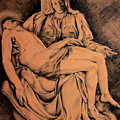 Pieta Study by Hanne Lore Koehler