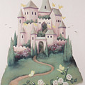 Pink Castle by Suzn Smith