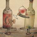 Pinot Noir And Chardonnay by Kestutis Kasparavicius