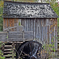 Pioneer Water Mill by DigiArt Diaries by Vicky B Fuller