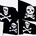 Pirate Flags by David Lee Thompson