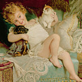 Playmates by Emile Munier