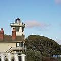Point Fermin Light - An Elegant Victorian Style Lighthouse In Ca by Christine Till