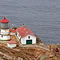 Point Reyes Lighthouse Ca by Christine Till