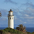 Point Vicente Lighthouse On The Cliffs Of Palos Verdes California by Christine Till