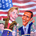 Political Puppets by Ken Meyer jr