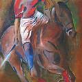 Polo Player by Vered Thalmeier