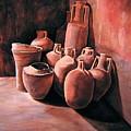 Pompeii - Jars by Keith Gantos