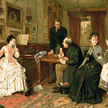 Poor Relations by George Goodwin Kilburne