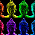 Pop Art Buddha  by Fabrizio Troiani